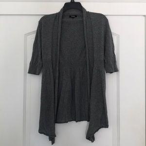 Grey Express Cardigan
